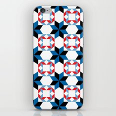 Blue Rhapsody - By  SewMoni iPhone & iPod Skin