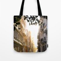 Old Town Sunset Tote Bag