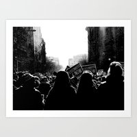 March For Life Art Print