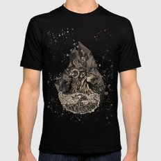 When nature strikes back  Mens Fitted Tee SMALL Black
