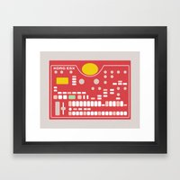 I Want to Make Beats Framed Art Print
