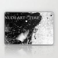 Nude art - time Laptop & iPad Skin