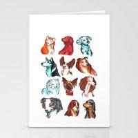 Brush Breeds Compilation Stationery Cards