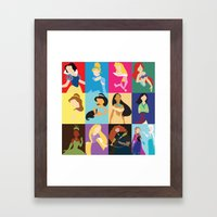 Princess 2014 Framed Art Print