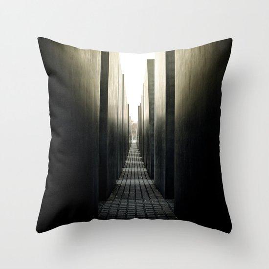 High Street Throw Pillow