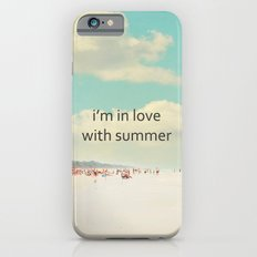 i'm in love with summer Slim Case iPhone 6s
