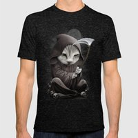 REAPERCAT Mens Fitted Tee Tri-Black SMALL