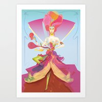 Madame W 3.0 Art Print