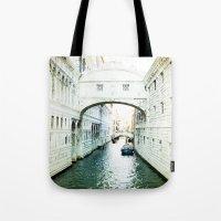 The Bridge Of Sighs - Ve… Tote Bag