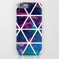 iPhone & iPod Case featuring GALAXY TRIANGLES by natalie sales