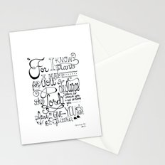 Jeremiah 29:11 Stationery Cards