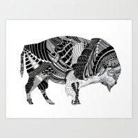 BISONTE Art Print