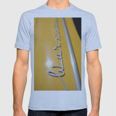 Warszawa Mens Fitted Tee Athletic Blue SMALL