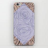 Art Nouveau Rose iPhone & iPod Skin