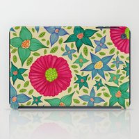 Floral and Leaf iPad Case