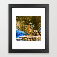 Reflection -abstract Framed Art Print