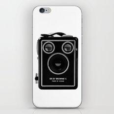 Box Brownie iPhone & iPod Skin