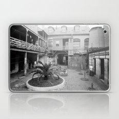 Old French courtyard, New Orleans Laptop & iPad Skin