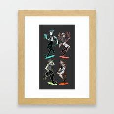 caravan fam: take two Framed Art Print