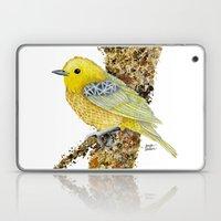 Yellow Warbler Tilly Laptop & iPad Skin