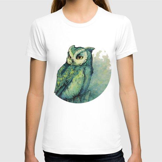 Green Owl T-shirt