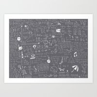 Maths Art Print