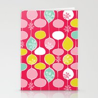 Snowflake Holiday Bobble… Stationery Cards