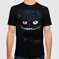CHESHIRE Mens Fitted Tee Black SMALL