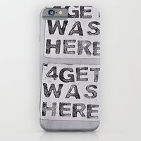iPhone & iPod Case featuring 4getful  by Ethna Gillespie