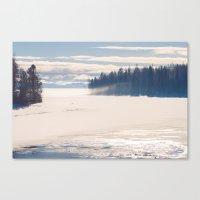Bright December Canvas Print