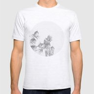 In Which Fish Show Conce… Mens Fitted Tee Ash Grey SMALL