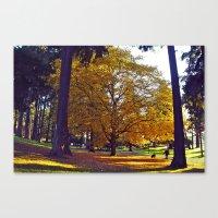 Urban Park Beauty Canvas Print
