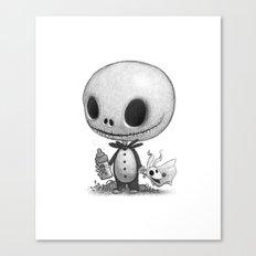 Lil Jack Skellington Canvas Print