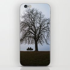 That night we sat together under a tree iPhone & iPod Skin