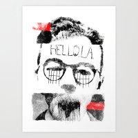 Hello.L.A. Art Print