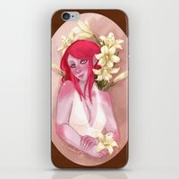 Tasmit & Lilies iPhone & iPod Skin