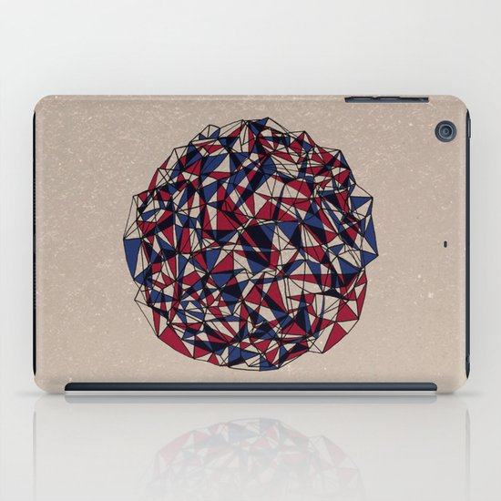- red blue - iPad Case