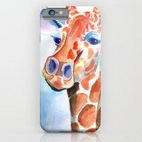 iPhone & iPod Case featuring Giraffe  by Alexis Kadonsky