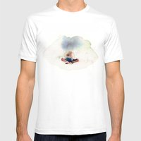 Peace In Mind Mens Fitted Tee White SMALL