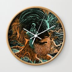 Glow Worms Wall Clock