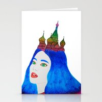 Russia Stationery Cards