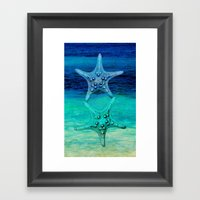STARS OF THE SEA Framed Art Print