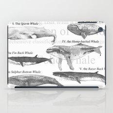 I. The Folio Whale iPad Case