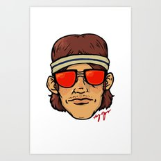 The Coolest Dude Art Print
