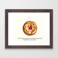 Biscuit Framed Art Print