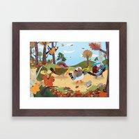 Bird Band Framed Art Print