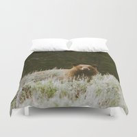 Bush Bear Duvet Cover