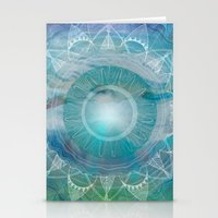Vishuddha: Throat Chakra Stationery Cards