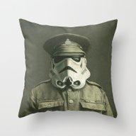Sgt. Stormley  Throw Pillow