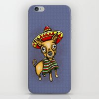 Mexican Chihuahua In Bro… iPhone & iPod Skin